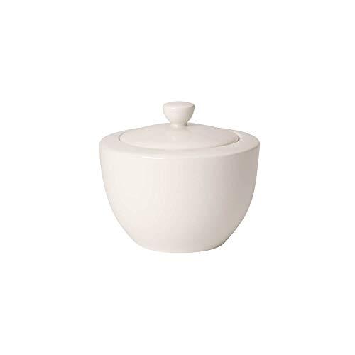 Villeroy & Boch For Me cukrowa miska z pokrywką 0,30 litra, porcelana premium, biała