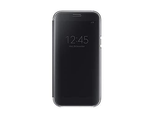 SAMSUNG EF-ZA720 14,5 cm (5.7') Libro Negro - Fundas para teléfonos móviles (Libro, Galaxy A7 (2017), 14,5 cm (5.7'), Negro)