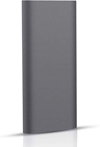 Disco duro externo de 2 TB, disco duro externo portátil para Mac Laptop PC (2 TB, negro)