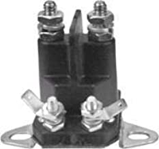 Universal Starter Solenoid Replaces AYP Part Numbers 109081X, 109946, 146154, 192507, 146154 for Wizard, Roper, Poulan, Craftsman mowers