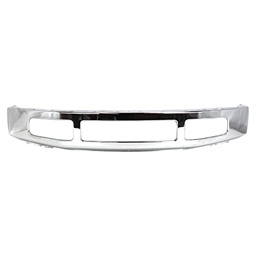 CPP Chrome Steel Front Bumper for 2008-2010 Ford F-250 SD, F-350 SD - FO1002406