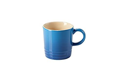 Le Creuset Stoneware Espresso Mug, 100 ml, Marseille Blue,