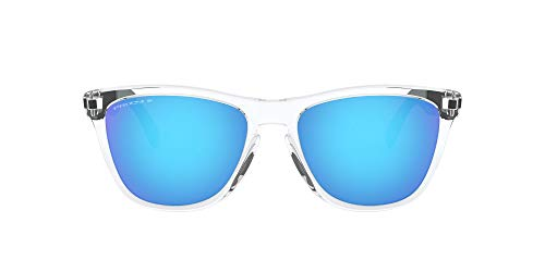 Oakley Men's Frogskins Mix A Sunglasses,One Size,Clear/Blue