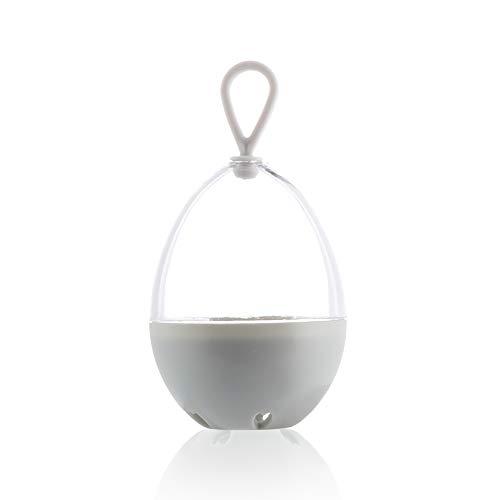 xinying Beauty Egg - Soporte de secado de polvo para maquillaje, esponja de maquillaje, caja de almacenamiento con forma de huevo, a prueba de moho, plástico vacío, accesorios portátiles (color: 3)