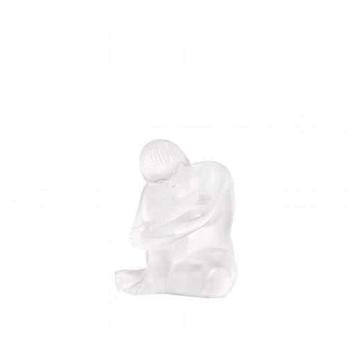 Lalique / Sculptures – Nues & Statues / Statuette nu sage / nudo / cristallo