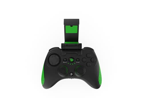 Monster Pusat Pro Gaming Bluetooth PC Gamepad, Kompatibel mit Telefon, Controller für Gaming Laptop oder PC, 90cm USB Kabel, integrierter Akku, 240g, Perfekt Gaming Notebooks