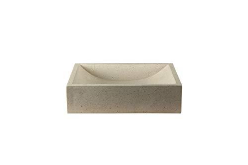 BadezimmerExklusiv Waschbecken Terrazzo Creme 50 cm TZS015