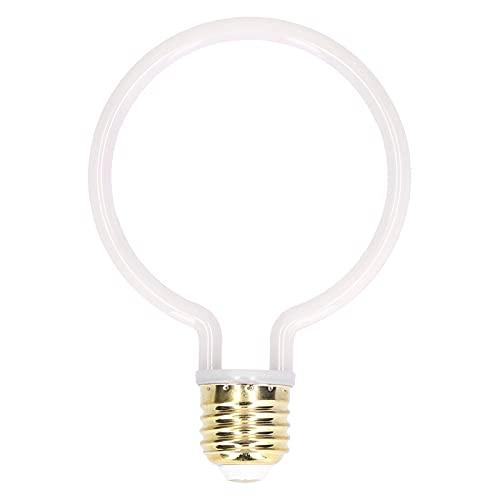 Bombilla de luz retro de 4W E27 Regulable LED Redonda Flexible Luz de ambiente cálida Bombilla LED 2700K Lámparas decorativas para el hogar 220V-240V