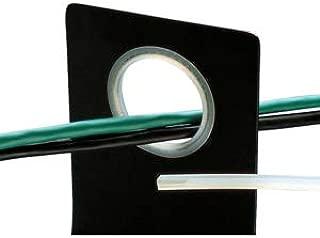 PANDUIT GES144F-A-C0 Black Polyethylene Adhesive Weather Resistant Roll Form Grommet Edging - 1 item(s)