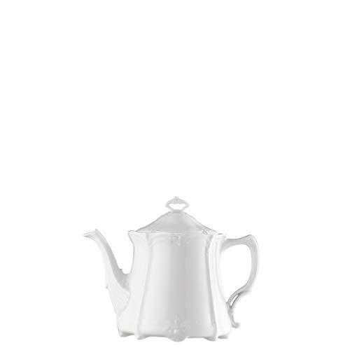 Hutschenreuther Baronesse Teekanne 6 P. Weiss
