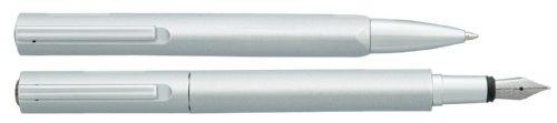 Vuarnet SV266165A Delta - Juego de bolígrafo y pluma (incluye cartucho de tinta)