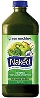 NAKED Green Machine (5 count, 64oz each) + Blue Machine (5 count, 64oz each) Boosted 100% Juice Smoothie (10 COUNT TOTAL)