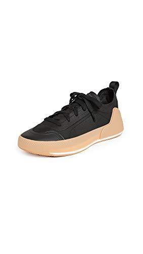 adidas by Stella McCartney Women's Asmc Treino Sneakers, Cblack/Cblack/Owhite, Black, 9.5 Medium US
