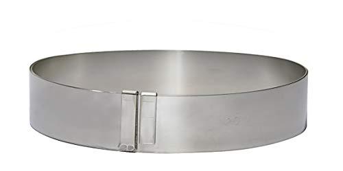 DE BUYER -3040.03 -cercle inox extensible de ø18 a 36 ht 3cm