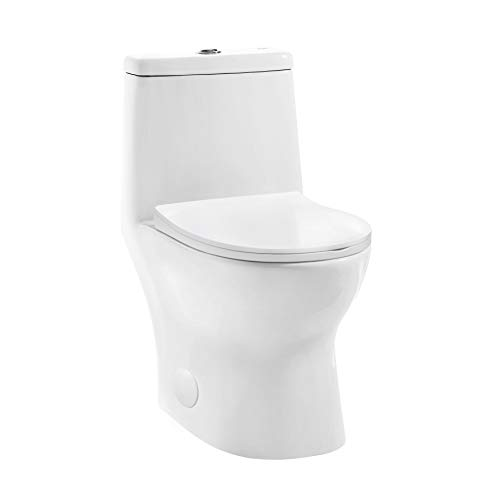 Swiss Madison Well Made Forever SM-1T127, Ivy One Piece Toilet, 10