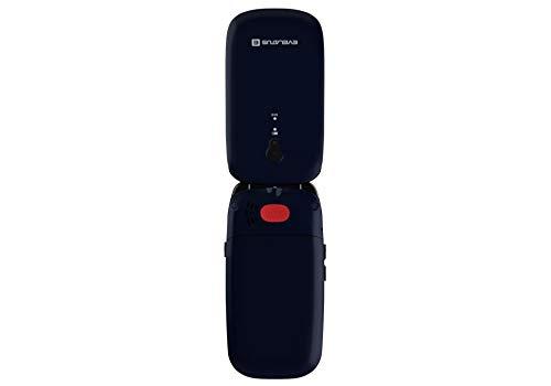 Evelatus Telefono Cellulare per Anziani,Tasti Grandi,Volume alto,Funzione SOS, Dual SIM, Radio, MENIU ITALIANO