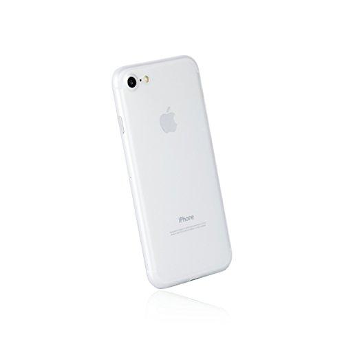 hardwrk Ultra-Slim Case - kompatibel mit Apple iPhone 7/8 und SE 2020 - matt klar - ultradünne Schutzhülle Handyhülle Cover Hülle - Unterstützt kabelloses Laden - Qi - Wireless Charging