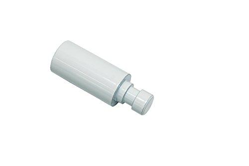 GARDINIA Trägerverlängerung, Für Träger offen 1-Lauf, Länge 4 cm, Durchmesser 20 mm, Weiß