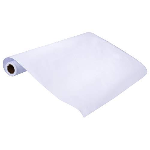 Rollo de Papel Blanco Rollo de Papel de Dibujo para Niños para Dibujo Técnico Pintura O Arte 393X18 Pulgadas
