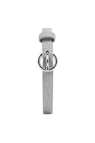 ESPRIT Accessoires Damen 039EA1S010 Gürtel, Grau (Silver 090), 6651 (Herstellergröße: 95)