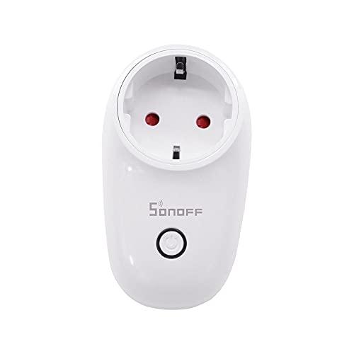 Docooler S26 Smart Switch Power Socket con Tiempo de Control Remoto WiFi App Herramientas de Bricolaje para hogares Inteligentes (1pc)