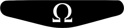 Adhesivo para la barra de luces de la PlayStation PS4 negro negro God Of War Logo (schwarz)