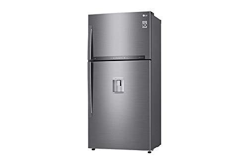 Réfrigérateur congélateur haut LG GTF8659PS - Réfigérateur 2 portes 592 litres - Inox - Total No Frost - Fabrique de glaçons / Distributeur d'eau - Fresh Zone - Wifi intégré