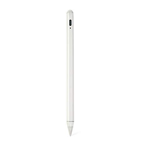 LIAWEI Lápiz capacitivo para iPad 2018 – 2020 con rechazo de palma y lápiz inclinable, compatible con iPad Pro 11 (1/2), iPad Pro 12.9 (3/4), iPad 6/7/8th, Air 3/4th, Mini 5th