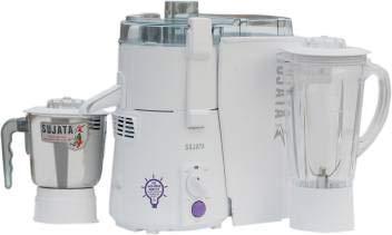 Sujata Juicer Mixer Grinder, 900W (White)