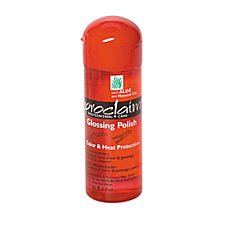 PROCLAIM GLOSSING POLISH WITH ALOE & NATURAL OIL 6 OZ FOR COLOR AND HEAT PROTECTION HAIR