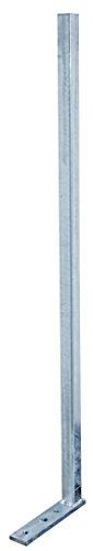 GAH-Alberts 700300 Universalpfosten, feuerverzinkt, zum Aufschrauben, Länge 950 mm
