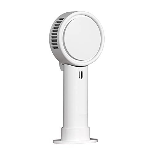 Tendia Ventilador de Mano portátil 3 en 1 Collar de Escritorio Ventilador de Mano Ventilador de enfriamiento sin aspas Sda de Aire giratoria de 180 Grados 3 velocidades Ventilador