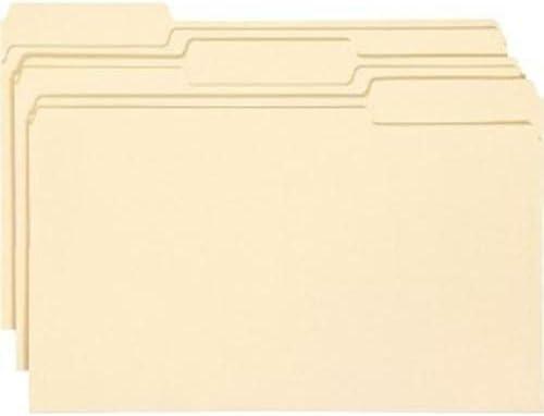 Manila File Folders - Legal 8.50
