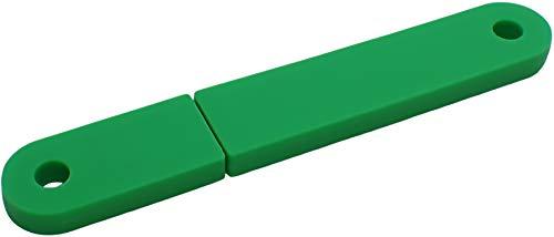 USBfix - USB-Stick zum Abheften V2 USB2.0 32GB TypA Flach Grün 1er-Pack