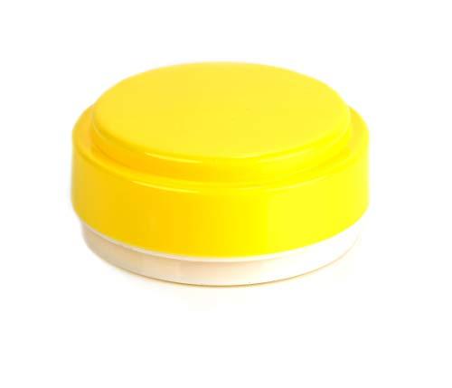 Kimmel kaasdoos rond/camembertdoos, kunststof, geel, klein