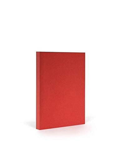 FANTASTIC PAPER COUTURE NOTIZBUCH A5 BLANKO, CHERRY & SILVER
