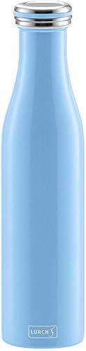 Lurch 240921 Thermoflasche Thermo-Flasche für heiße und kalte Getränke aus Doppelwandigem Edelstahl, 0,75l