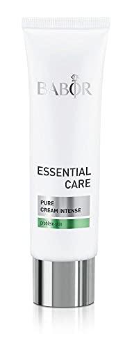 BABOR ESSENTIAL CARE Pure Cream Intense, Klärende Anti-Pickel Gesichtscreme für unreine Haut, Mit natürlichen Wirkstoffen, Vegane Formel, 1 x 50 ml