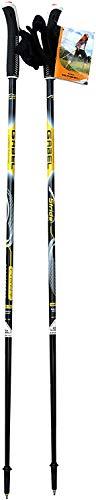 CCB Bastones – Nordic Walking Gabel de aleación de aluminio, longitud fija 100 cm, liberación rápida de los guantes, mod. Light 100 NSC 🔥