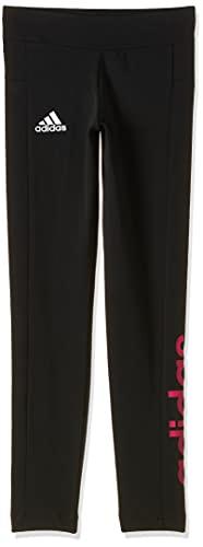 adidas Yg Linear Tight Mallas, Niñas, Negro, 128