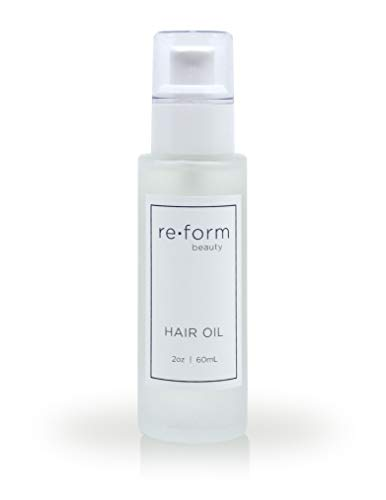 Reform Lightweight Hair Oil | Smooth Frizz, Increase Shine, and Repair Dry Damaged Hair with UV and Heat Protection | For All Hair Types | Safe for Color & Keratin Treated Hair | 2.0 fl oz