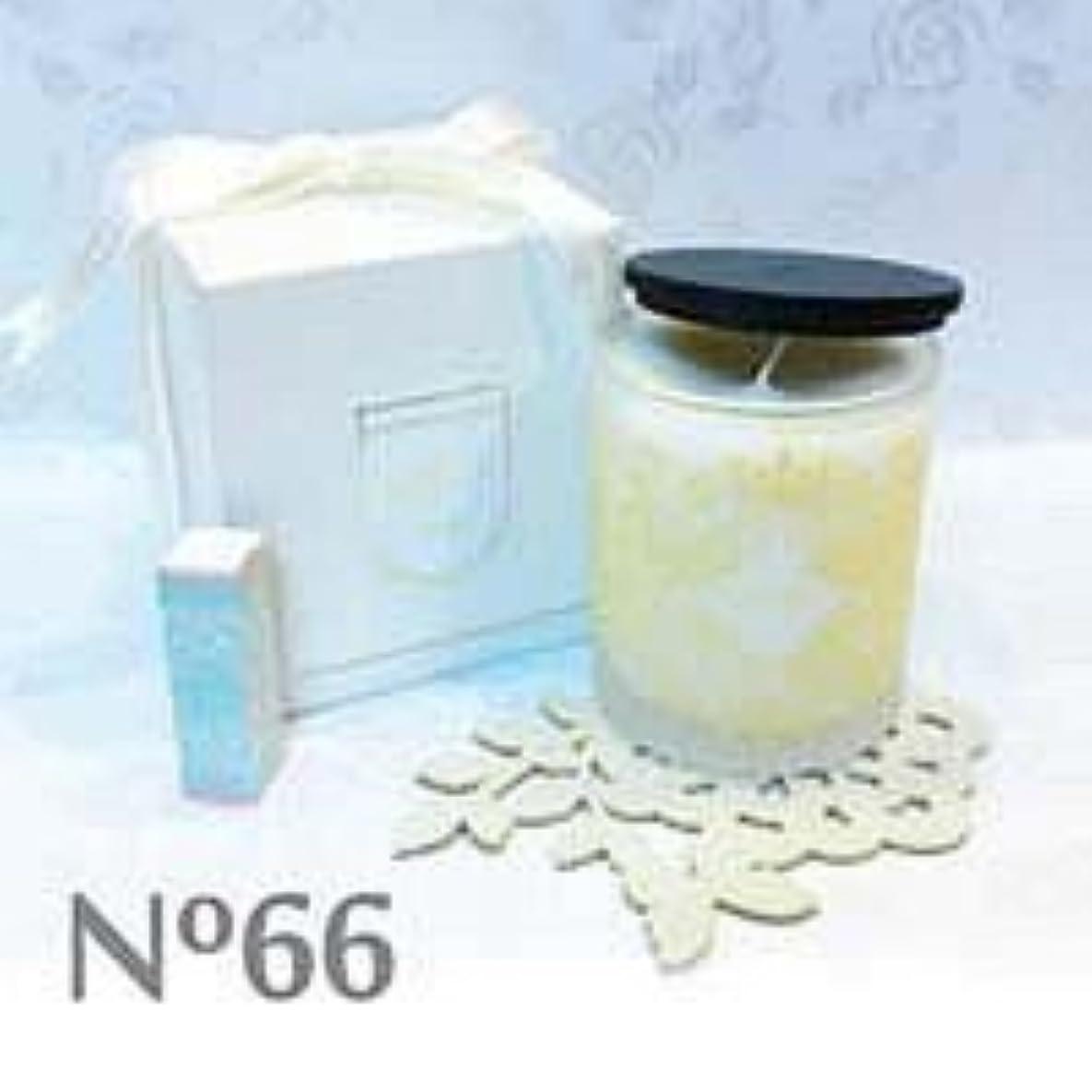 強風同様の制限アロマキャンドル parfum No.66