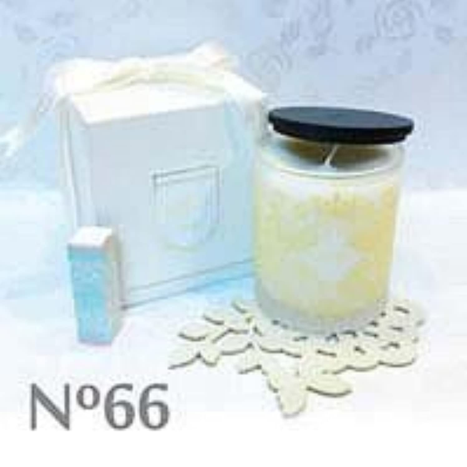 推進、動かす原油バーガーアロマキャンドル parfum No.66