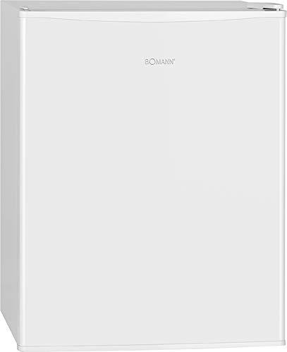 Bomann KB 7235 Kühlbox, 58 L Nutzinhalt, Abtauteilautomatik, 2 Glasablagen (herausnehmbar), weiß