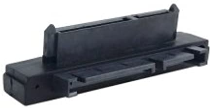 1pcs SATA 7+15 Pin 22 Pin Male to 22 Pin Female Right Angle Convertor Adapter