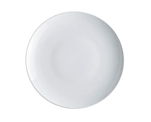Alessi Sg53/21 Mami Plat de Service Rond en Porcelaine Blanche