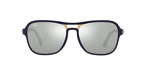 Ray-Ban State Side Rb4356 Gafas, BLU Creamy Light BLU, Standard para Hombre