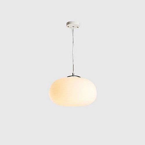 Moderne Ronde glazen Hanglampen, Wit Glas Opknoping Lamp voor eettafel E27 hoogte verstelbaar Hanglampen voor eetkamer en slaapkamer,C