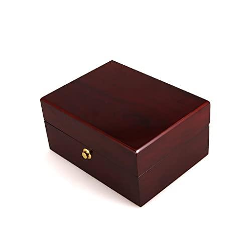 Cajas para joyas 7.08 pulgadas caja de joyería retro caja de almacenamiento caja de cosmética...