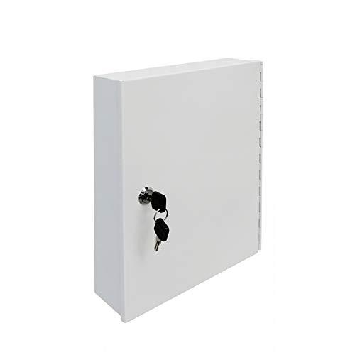 FixtureDisplays Key Box 90-Key Box Steel Key Box Safe Hook Key Box Lock Storage Case Cabinet Wall Mount 15124-NEW-2D
